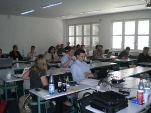 People at FIS Doctoral Consortium 2010